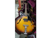 Gibson sunburst 330 TD