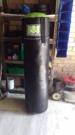 BBE brand new 5FT punching bag + professional RDX hanger (to hang bag)