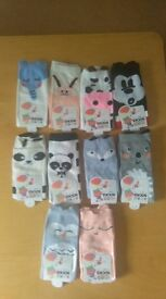 10 pairs of NEW socks approx 3-5 years