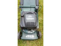 "Atco Admiral 16"" rear roller petrol lawnmower"