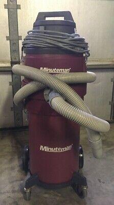 Minuteman Hepa X-829 Series Ulpa Critical Filter Wetdry Canister Vacuum - 6 Ga