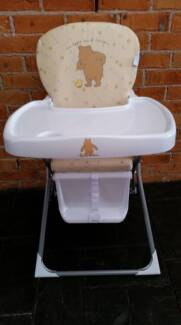 WINNIE THE POOH HIGHCHAIR Baby/Toddler Feeding Guildford Parramatta Area Preview