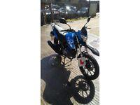 Lexmoto assault 125cc motorbike