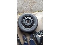 Brand New Michelin Tyre and Space Saver 195/16 R15 & 115/70 R16