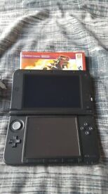Nintendo 3DS XL (Red) - With Charger & Pokemon Omega Ruby