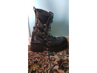 New rock boots size 11