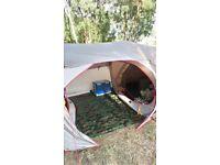 4man pop up tent 2rooms