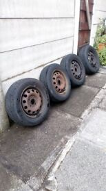 Wheels and tyres, Ford Focus 14inch