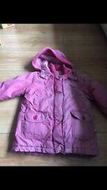 girls coat 18 - 23 months