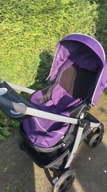 Graco pushchair and car seat