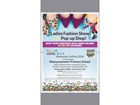Ladies fashion show and pop up shop 2nd May
