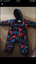 M&S snowsuit 0-3 months