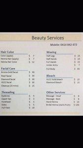 Beauty therapist Lane Cove West Lane Cove Area Preview