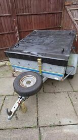 Car Trailer with Lid