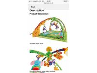 Fisher Price Rainforest Play Gym RRP £25