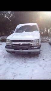2003 & 2006 Chevy Silverado PARTING OUT