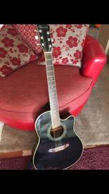 Charvel Cutaway Acoustic Guitar...Rare 90's model