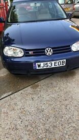 Golf V6 4motion *LONG MOT*