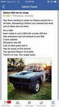 Datsun 620 ute project Loganlea Logan Area Preview