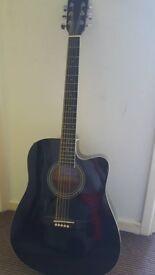 Axman Electric Acoustic Guitar
