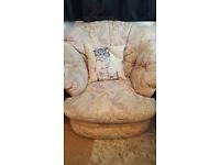 armchair, very comfortable