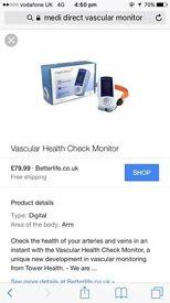 Vascular health check monitor