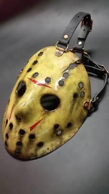 Custom Jason Voorhees hockey mask Slipknot Halloween costume collector (Halloween Collector Masks)