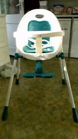Mamas and Papas highchair.