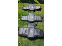 9 x Body Protectors in Very Good Condition cost £240 new / Juniors and Adults
