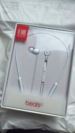Beats X wireless headphones (not opened, white) £110 ono