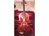 Late 19th century French full size violin