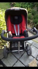 Britax pushchair / car seat