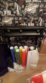 For Sale Sticker Making Business Vinyl Cutter Software Rolls Number Plates etc
