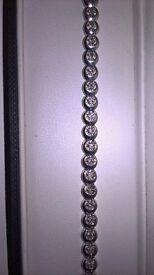Stunning white Gold & Diamond Bracelet!!!!