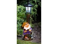 Solar Garden Gnome - Free local delivery