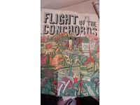 New Zealand Flight of the Concords CD + 2 posters