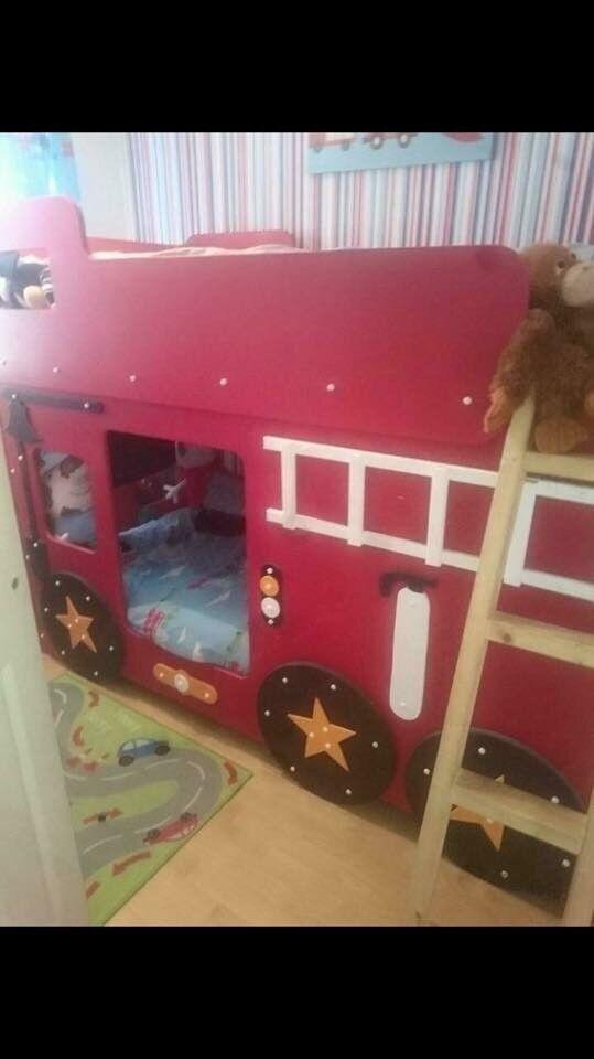 Fire Engine Bunk Bed Bedroom Accessories In Worksop