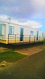 SEAVIEW CARAVAN PARK INGOLDMELLS WEEKENDS £45.00 A NIGHT MINIMUM 2 NIGHTS