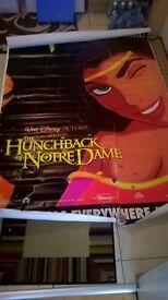 Disney The Hunchback of Notre Dame Esmeralda poster 6ft