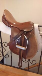Stubben Siegfried AP and Stubben Tristan Dressage Saddle