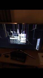 32'' smart tv samsung model ue32f6200akxxu (smashed screen)
