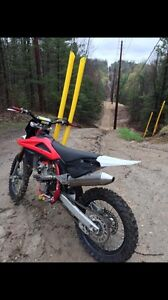 Looking to trade my 250f for a bigger bike or supermoto