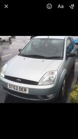 ford fiesta 1.4 zetec, reluctently selling due to new car, would be great first car