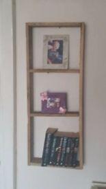 rustic bookshelfs for sale