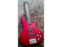 Ibanez GSR200 Bass Guitar - Active EQ boost, Great quality!