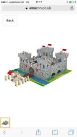 Chad Valley Wooden Castle