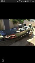 14ft flat bottom punt with trailer Castlemaine Mount Alexander Area Preview