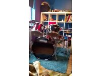Mapex Tornado beginner/intermediate drum kit.