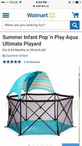 (Playpen) pop & play play yard  REDUCED