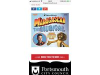 Madagascar tickets at the kings theatre southsea